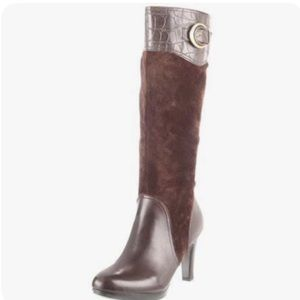 NATURALIZER N5 Comfort Leather Knee High Boots, 5